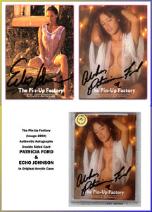 Image 2000 - The Pinup factory - Echo Johnson & Patricia Ford - Dual Autograph Card