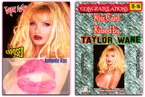 Taylor Wane - EXPOSED - Authentic KISS Card - TE-1K