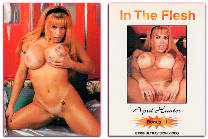 Ultravision - In The Flesh - April Hunter - 2 Card Bonus Set
