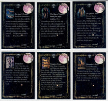Load image into Gallery viewer, Vampires Lust - Complete 6 Card Chase Set - VL-A  -  VL-F - Studio E