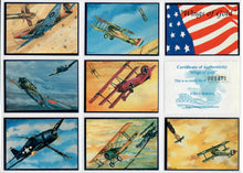 Load image into Gallery viewer, Wings of Gold - Complete 20 Card Set - Including Cover Card & COA