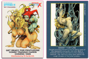 Penthouse - Comix - Bethlehem Steele - SWEET TORTURE - Limited Edition Promo Card