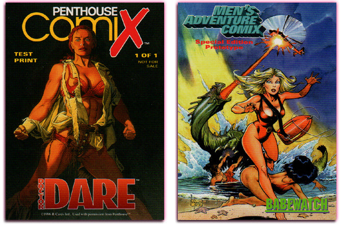 Penthouse - Comix - Doctor DARE - Test Print - Special Edition Prototype Promo Card