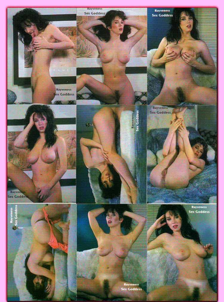 Infinity - Rayveness - Sex Goddess - Complete 9 Card Set