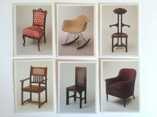 Load image into Gallery viewer, CHAIRS - Museum Trading Cards - Boxed 36 Card Set - Acme Studios