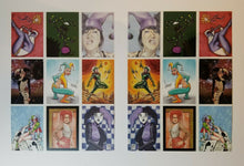 Load image into Gallery viewer, Happy Jack - SET of 2 Artists Series 9 Card UNCUT PROMO CARD Sheets - RARE