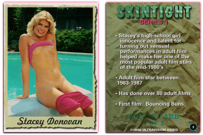 Ultravision - Skintight Series 1 - Stacey Donovan - Bonus Card 1 of 2
