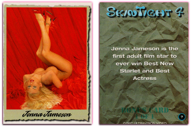 Ultravision - Skintight Series 4 - Jenna Jameson - Bonus Card 1 of 1