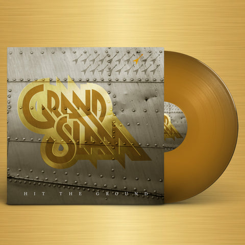Hit The Ground - Signed Gold Vinyl