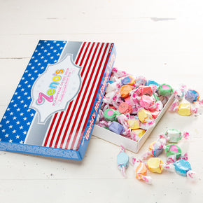 Fourth Of July Taffy Box - Classic Mix
