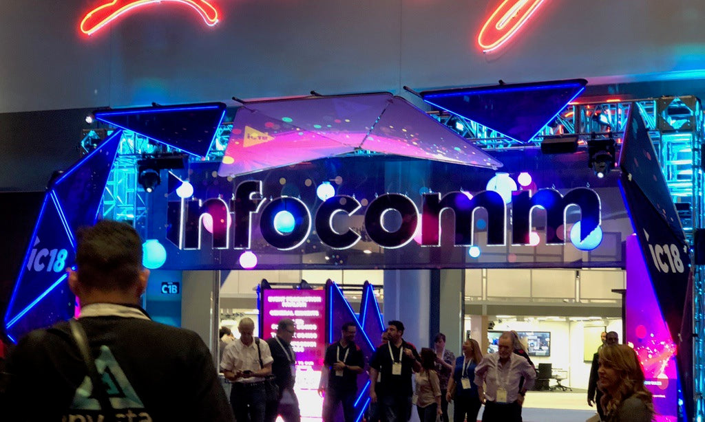 PRESS RELEASE: HIDEit Mounts at InfoComm 2018