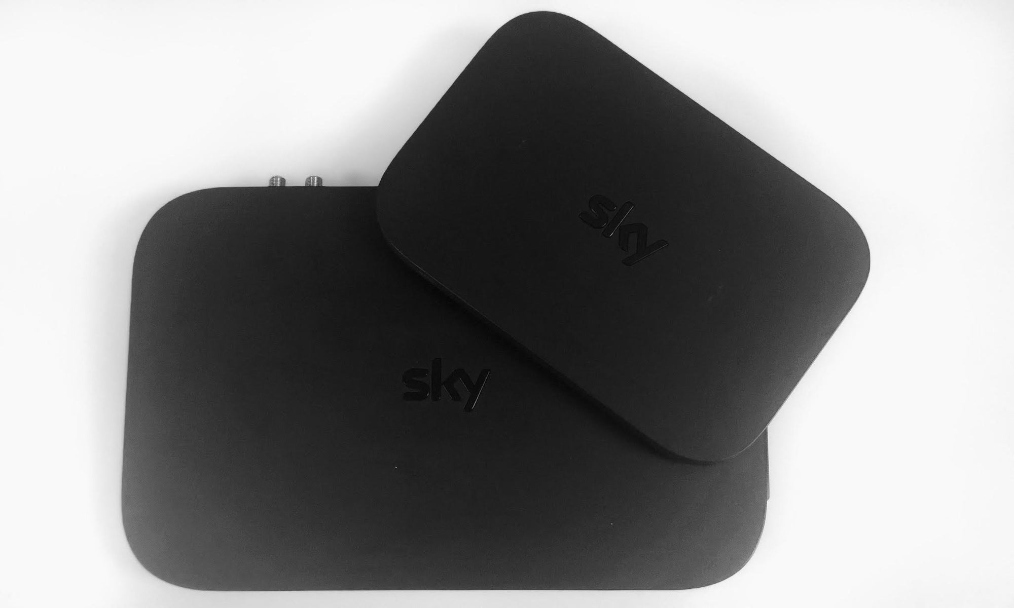 Sky Q Cable Box with Sky Q Mini Cable Box
