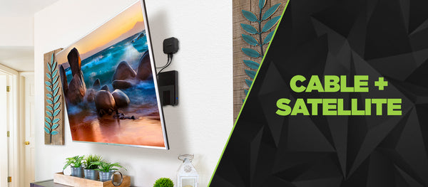 Cable + Satellite Box Wall Mounts | HIDE that cable box