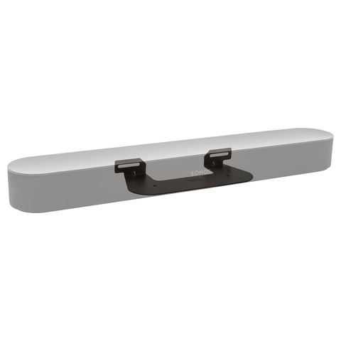 Sonos Beam bracket is made from steel and obrounds allow for easy centering under the TV.