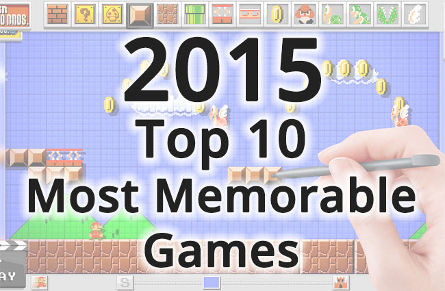 Top 10 Games of 2015 | HIDEit Mounts