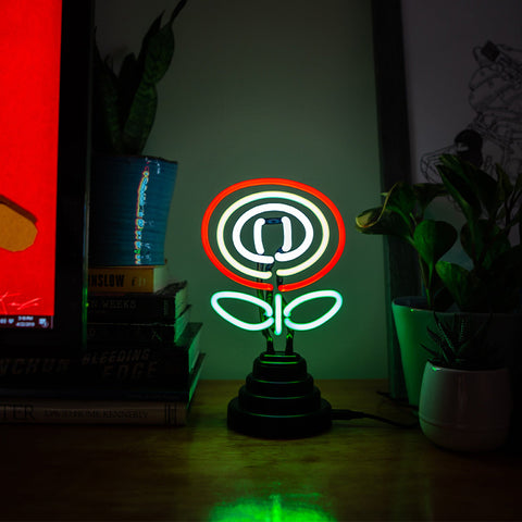 FanFit Gaming Fire Flower Neon Light