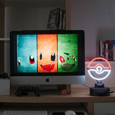 FanFit Gaming Pokeball Neon Light