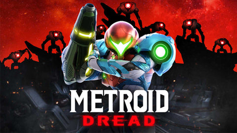 Metroid Dread main image with logo