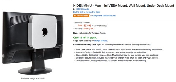 HIDEit MiniU Best Seller on Amazon
