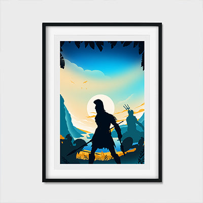 Pixelnoise Studio Gaming Assassins Odyssey Poster