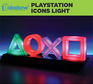 Paladone PlayStation Icons Light Gameroom Decor sold by HIDEit