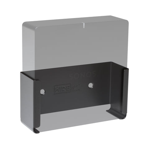 Greyed out Sonos Port in HIDEit wall mount for Sonos Port Streaming Music System.
