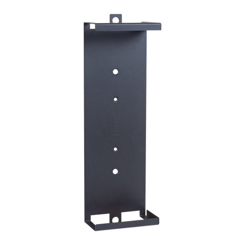 Front view of HIDEit Samsung One Connect Box wall mount.