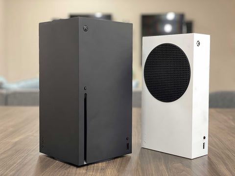 Xbox Series X and S standing