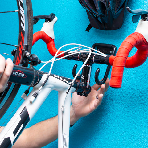 HIDEit Vertical Bike Wall Mounts are easy to install and easy to use.