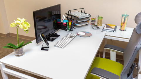 Work From Home Clean Desk