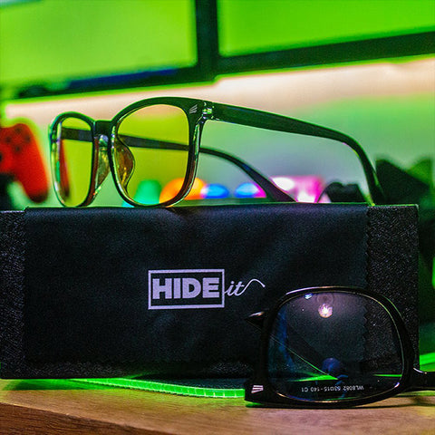 HIDEit Blue Light Blocking Glasses Yellow Lenses
