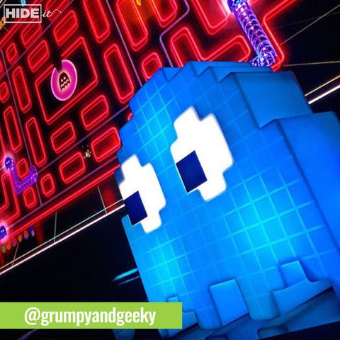 @grunpyandgeeky Paladone Pac-Man Ghost Light sold by HIDEit Mounts