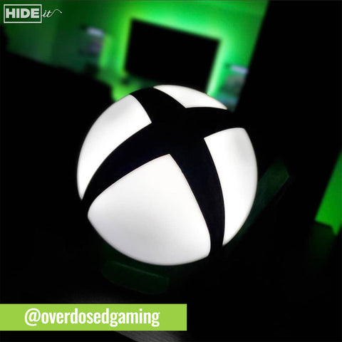 @overdosedgaming Paladone Xbox Logo Light sold by HIDEit Mounts