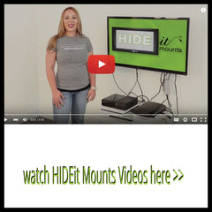 Watch HIDEit Mounts Videos Here