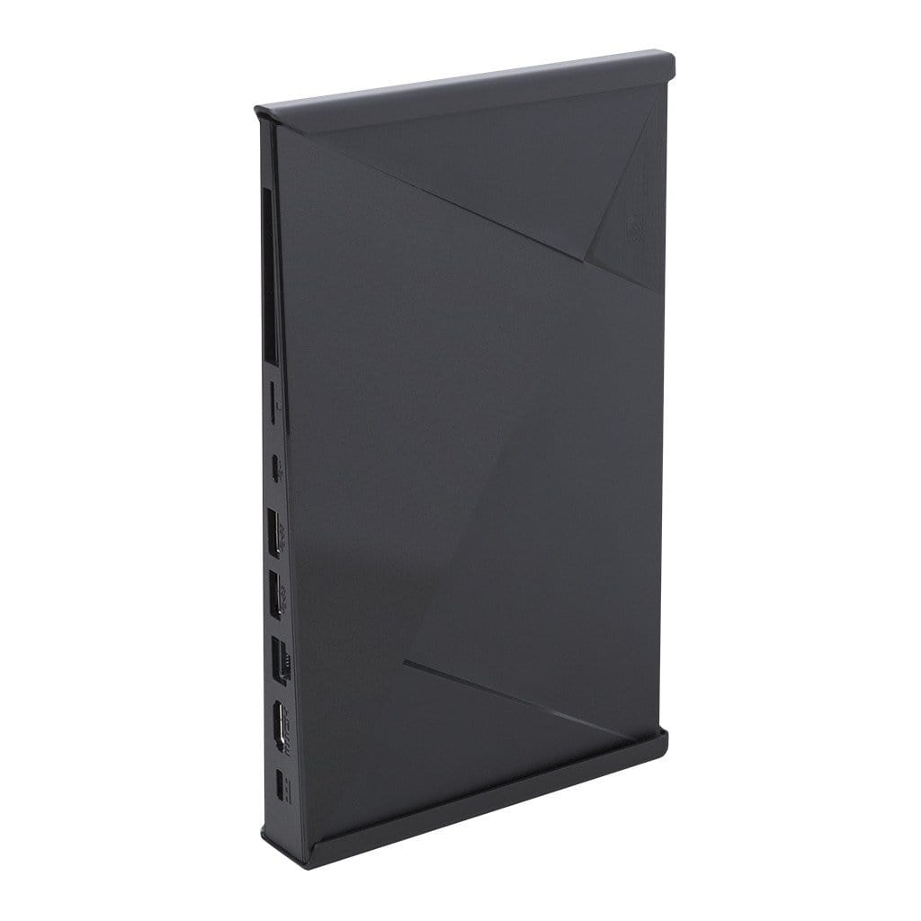 NVIDIA Shield in steel HIDEit Mount designed for NVIDIA Shield and NVIDIA Shield TV Pro.