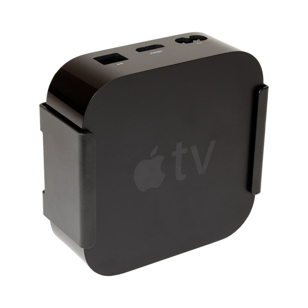HIDEit Apple TV 4K steel wall mount for Apple TV 5th generation 4K.