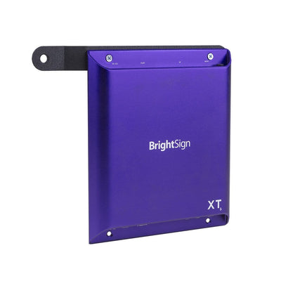 BrightSign Player mounted to the HIDEit BSXT VESA Adapter Mount