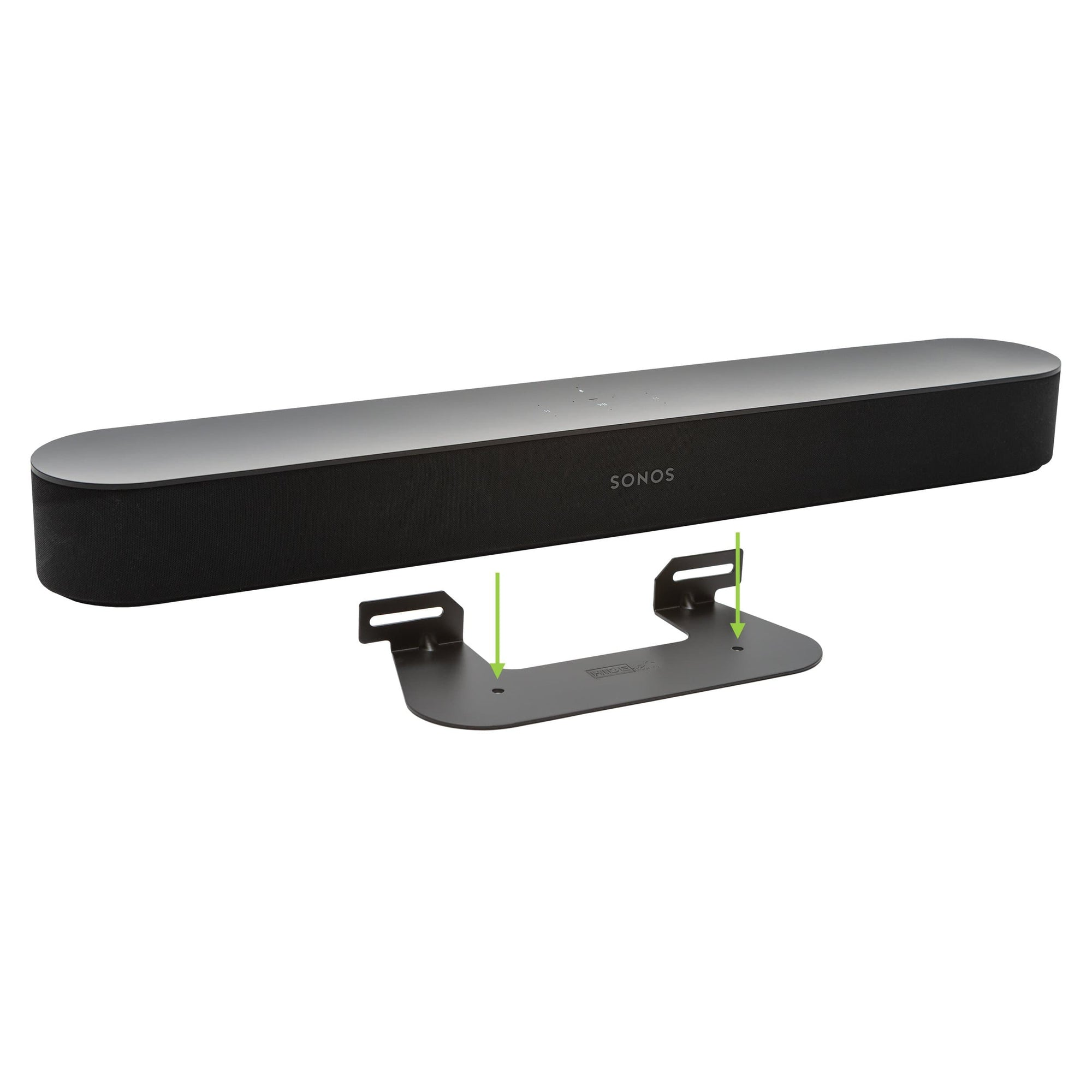 HIDEit Soundbar wall mount designed for the Sonos Beam Soundbar