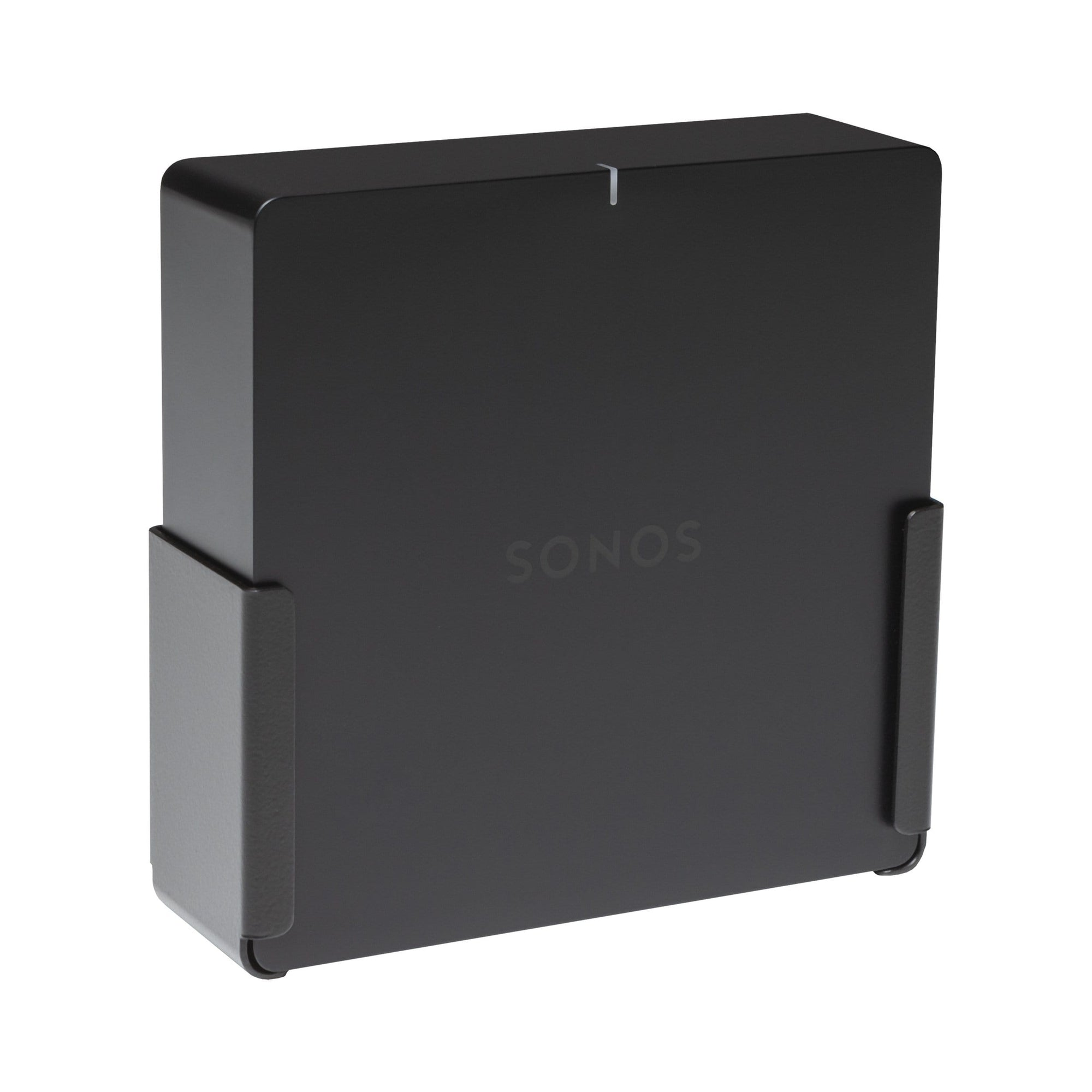 Sonos Port securely mounted in the HIDEit Port Wall Mount.