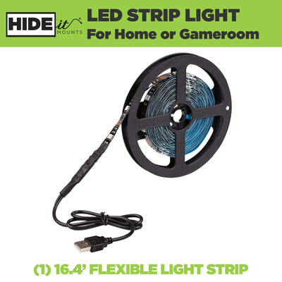 LED Strip perfect for home, playroom, gameroom, or office.