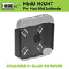 Steel HIDEit Mini U Mount for Apple Mac mini Computer Unibody.