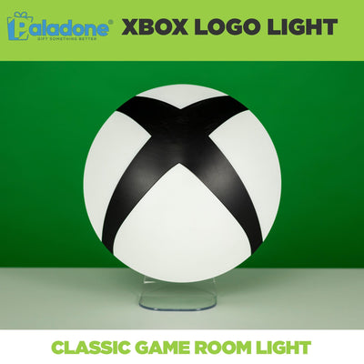 Xbox Logo lamp is the perfect game room decor for any Xbox gamer! Wall mountable.