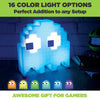 Pac-man color changing ghost lamp, made by Paladone sold by HIDEit Mounts. 16 color light options.