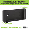HIDEit Uni-T | Universal Tablet Wall Mount