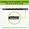HIDEit Mounts 8 Bat Mount is able to be wall mounted and fits 14 inch to 20 inch studs.
