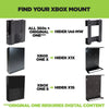 Xbox 360 Wall Mount, Original Xbox One Mount, Xbox One S Wall Mount and Xbox One X Mount