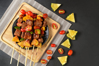 Pork & Pineapple Skewers