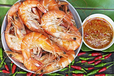 King Prawns & Thai Dipping Sauce