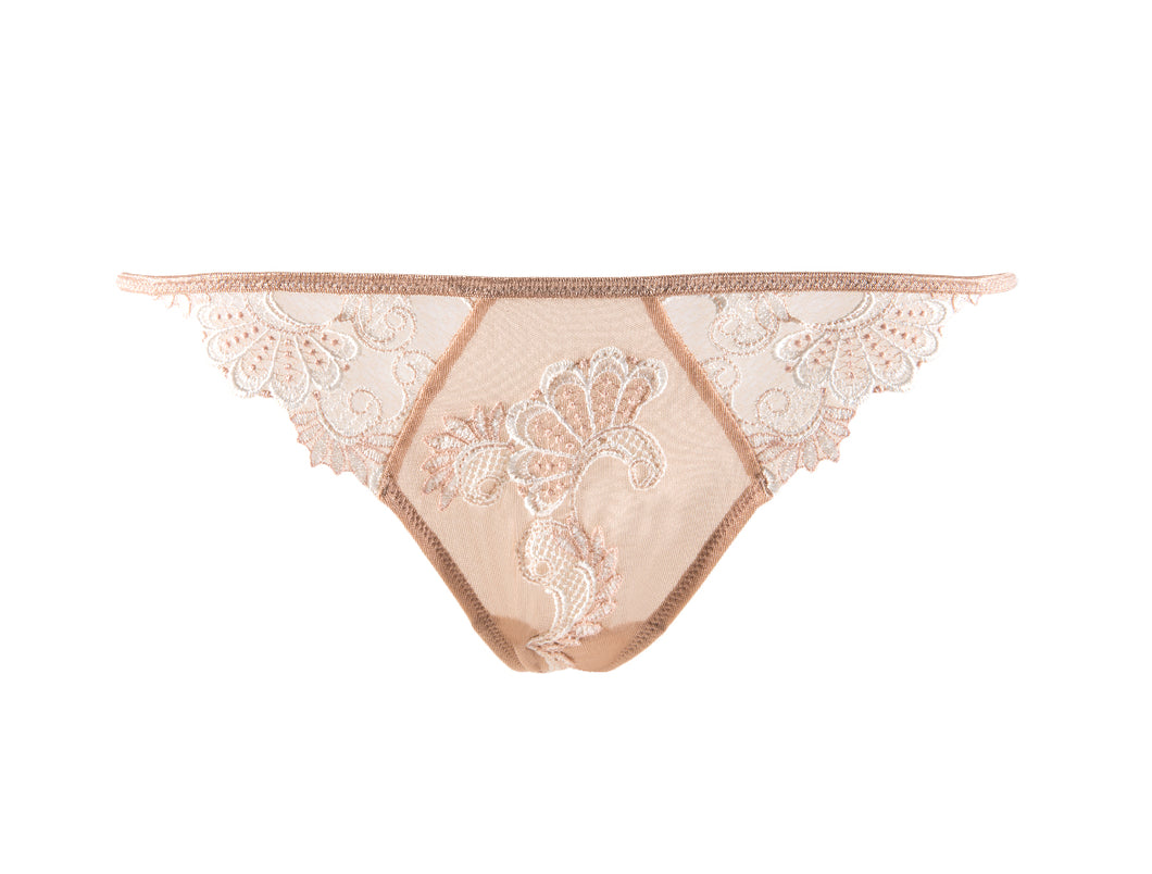 Dressing Floral Sexy String Thong