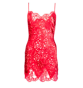 Dressing Floral Baby Doll Red